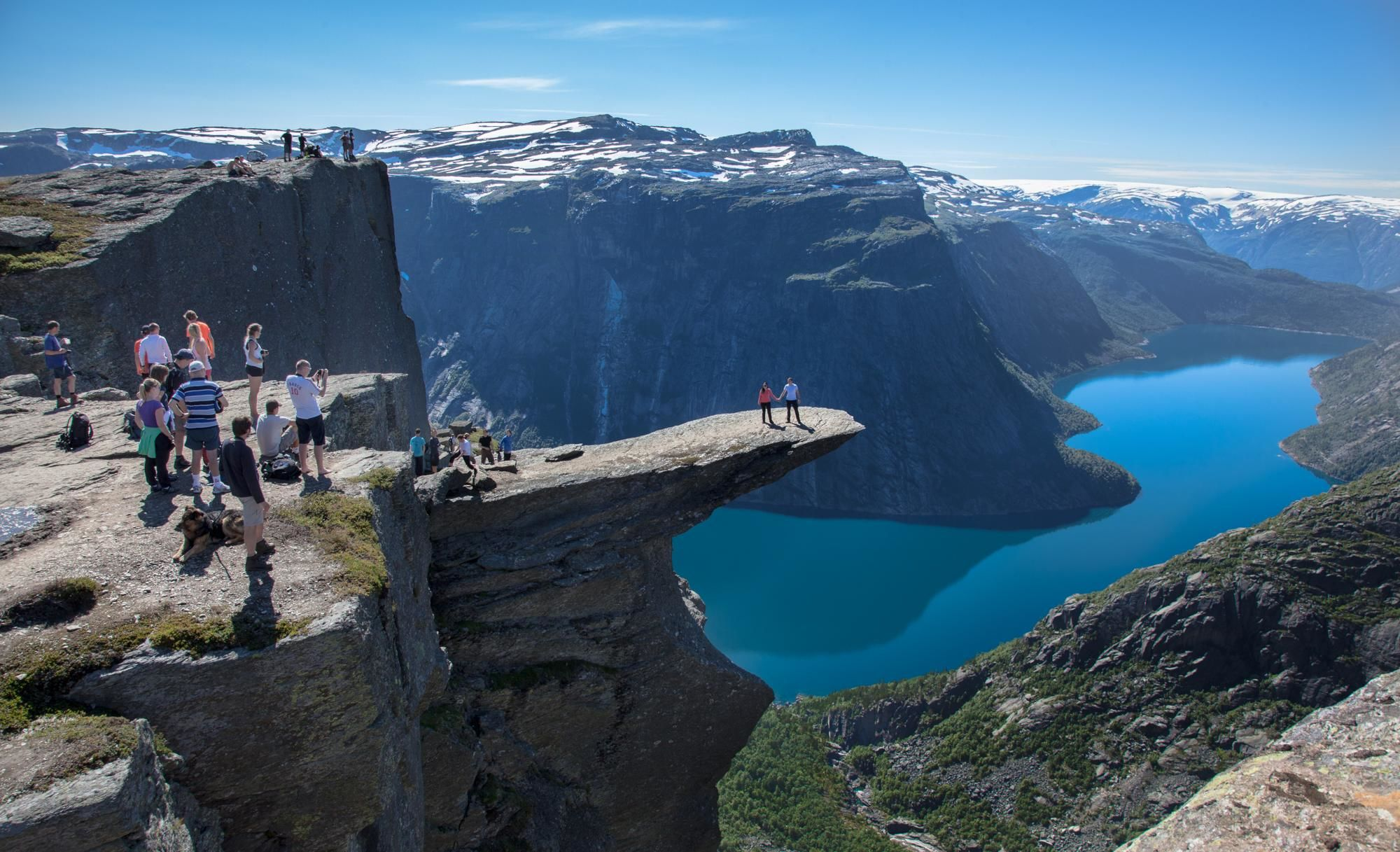 Trolltunga Hardanger Norway