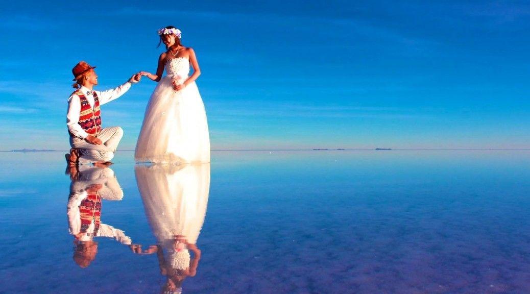 クイ~ズ水中から空中まで!世界のユニークな結婚式♡8選